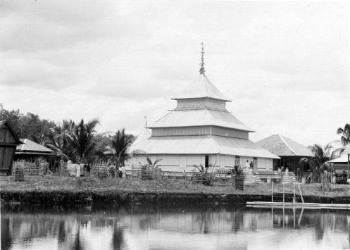 Masjid Jambi, Moskee Djambi, 1900-1939